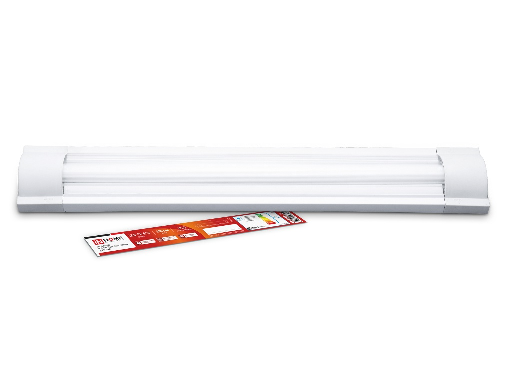 Светильник In Home SPO-405 1xLED-Т8-600 G13 230V 600mm IP40 4690612034058