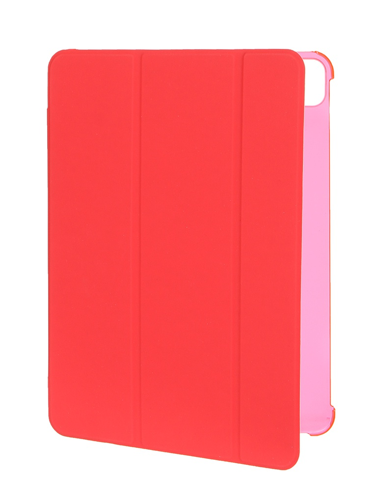 Чехол Red Line для APPLE iPad Pro 11 2018 / 2020 // Air 4 10.9 Red-Transparent УТ000026196