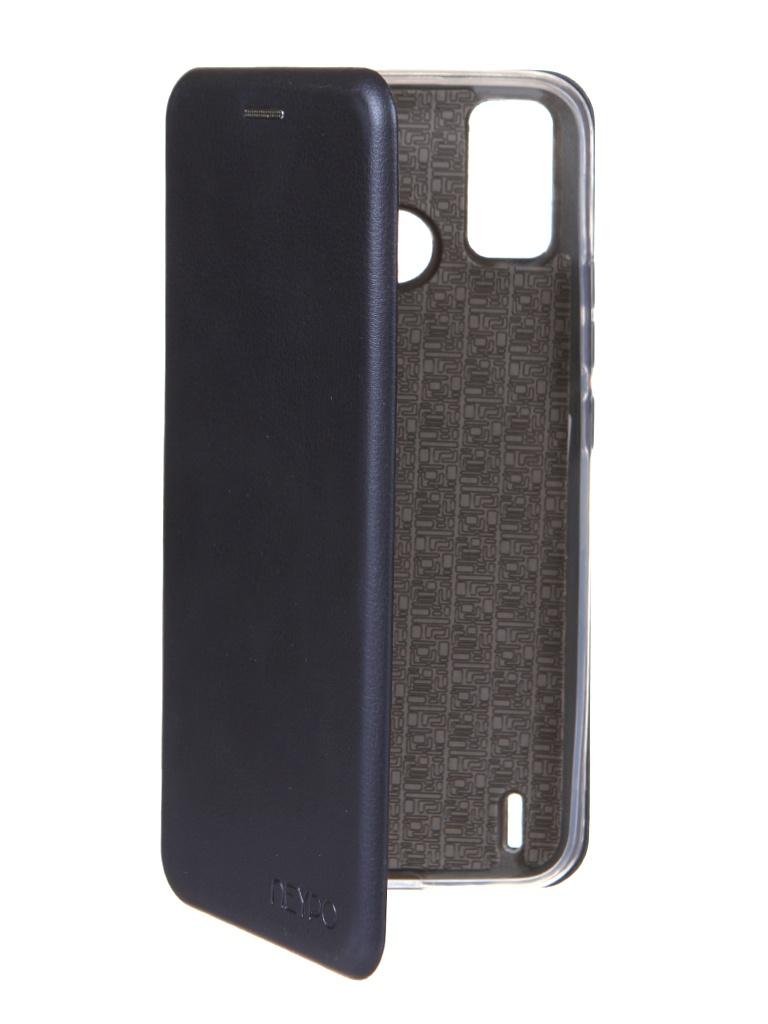 Чехол Neypo для Tecno Spark 6 Go Premium Dark Blue NSB46818 сотовый телефон tecno spark 6 go 2 32gb mystery white