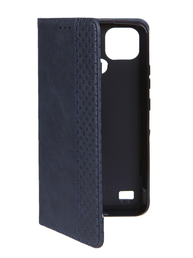 Чехол Neypo для Realme C21 Wallet Dark Blue NW23119