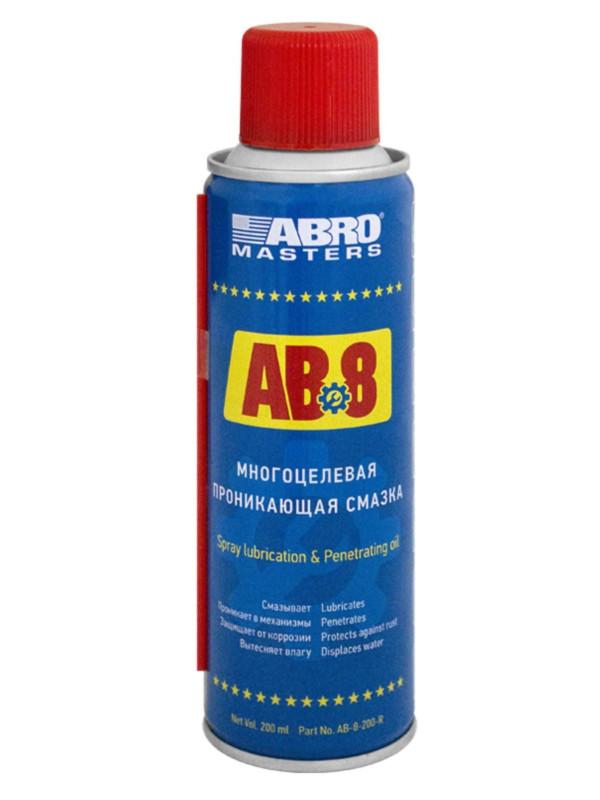 Смазка спрей Abro AB8 200ml