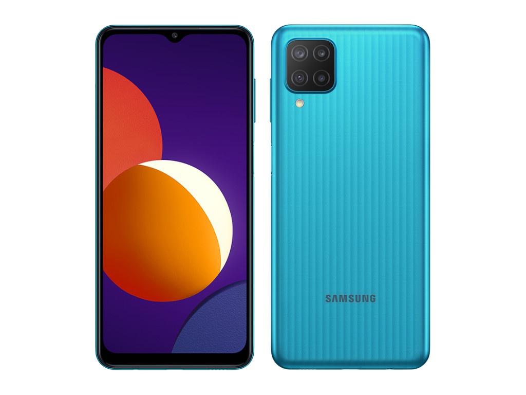Сотовый телефон Samsung SM-M127F Galaxy M12 3/32Gb Green Выгодный набор + серт. 200Р!!! сотовый телефон samsung sm m127f galaxy m12 3 32gb light blue