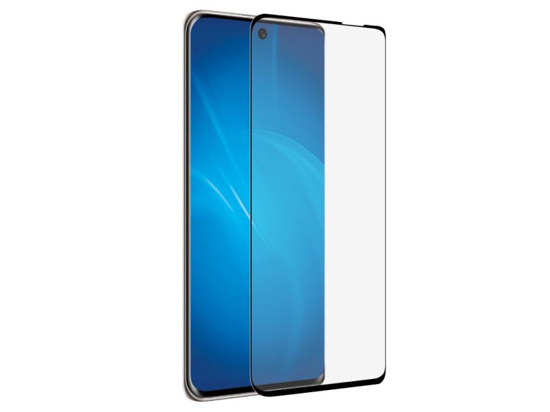Закаленное стекло DF для Huawei Nova 8 3D Full Screen Black Frame hwColor-127