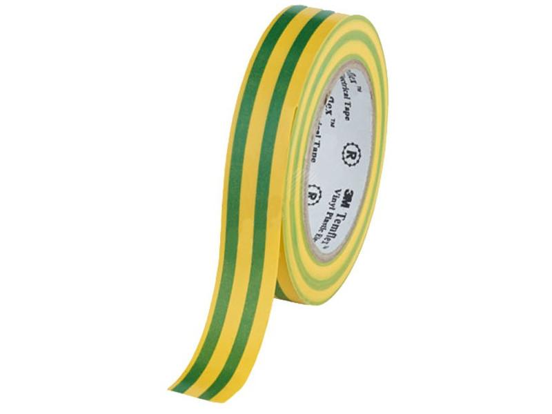 Изолента 3M Temflex 1300 15mm x 10m Yellow-Green 7100081324