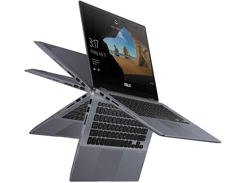 Ноутбук ASUS VivoBook TP412FA-EC751T 90NB0N31-M17120 (Intel Pentium 5405U 2.3GHz/8192Mb/512Gb SSD/Intel UHD Graphics/Wi-Fi/Bluetooth/Cam/14/1920x1080/Windows 10 64-bit) ноутбук asus vivobook flip 14 tp412fa 90nb0n31 m02610