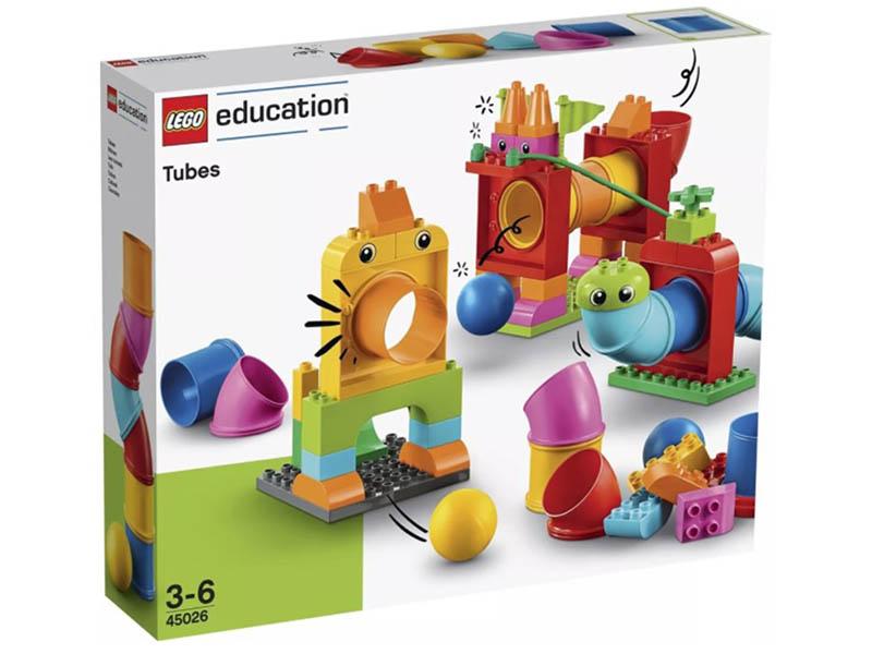 Lego Education Duplo Новый набор с трубками 150 дет. 45026
