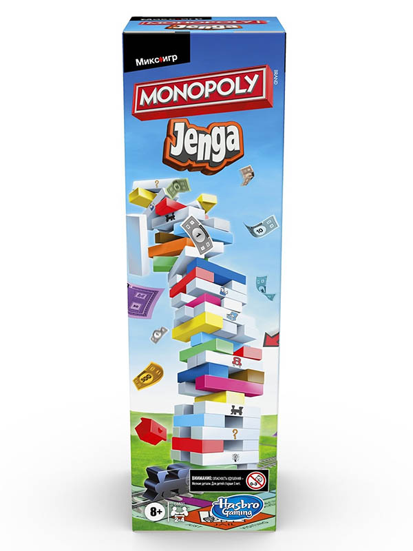 Игрушка Hasbro Монополия Дженга E8831121