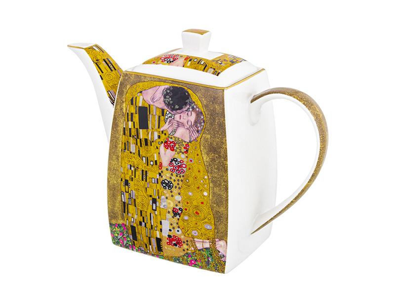 Заварочный чайник Elan Gallery New Bone China Поцелуй 1.3L 420505