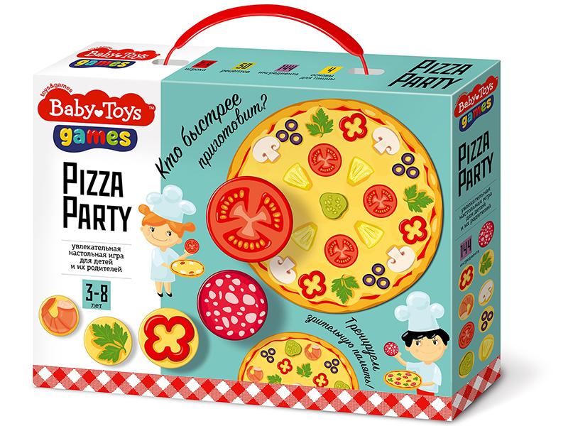 Настольная игра Десятое Королевство Pizza Party Baby Toys 04191