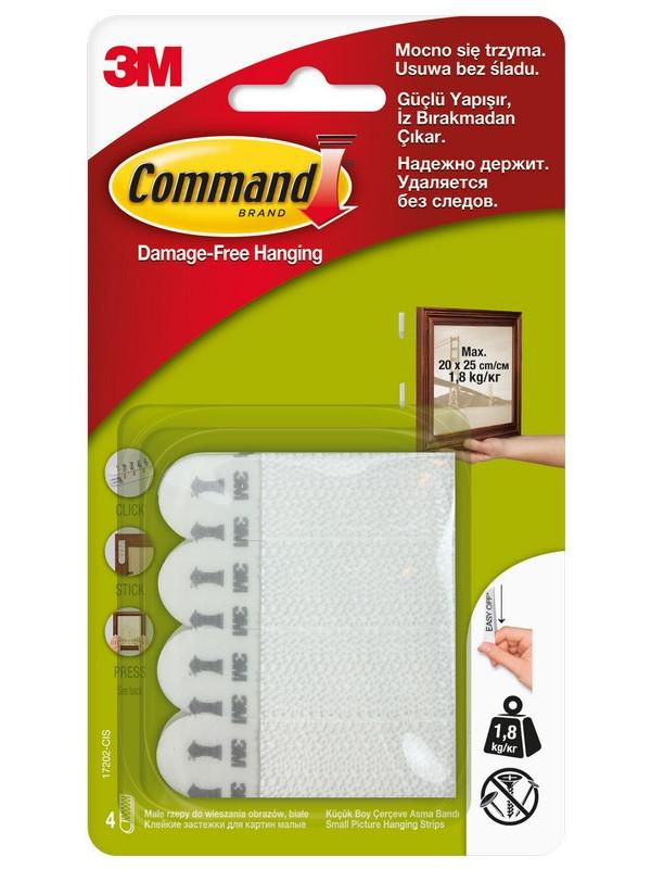 Застежки клейкие Command 450g