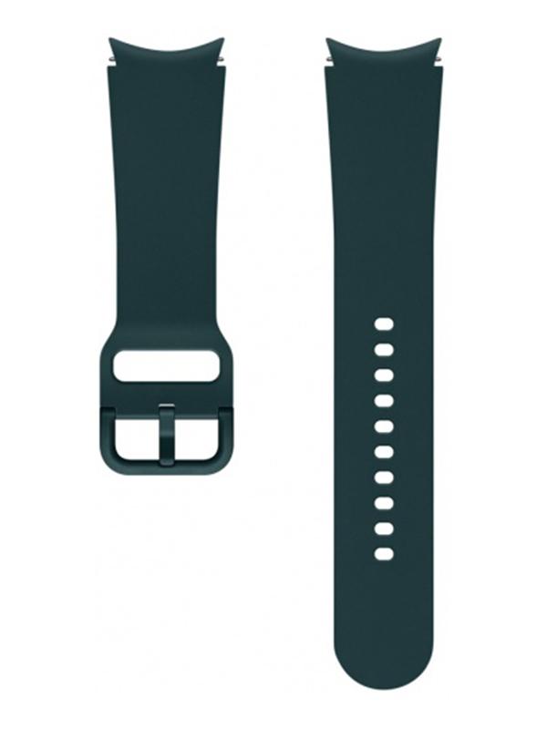 Aксессуар Ремешок для Samsung Galaxy Watch 4 / 4 Classic Sport Band 20mm M/L Green ET-SFR87LGEGRU aксессуар ремешок samsung galaxy watch sport band pink et sfr82mpegru для active active 2
