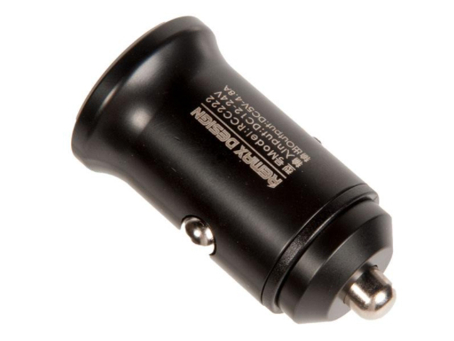 Зарядное устройство Remax Alloy RCC222 2xUSB 4.8А Black