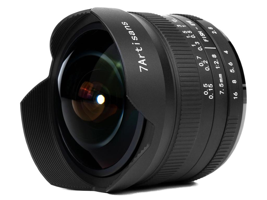 Фото - Объектив 7Artisans E-Mount 7.5 mm f/2.8 II Fisheye 24230 объектив sony 16mm f 2 8 fisheye sal 16f28
