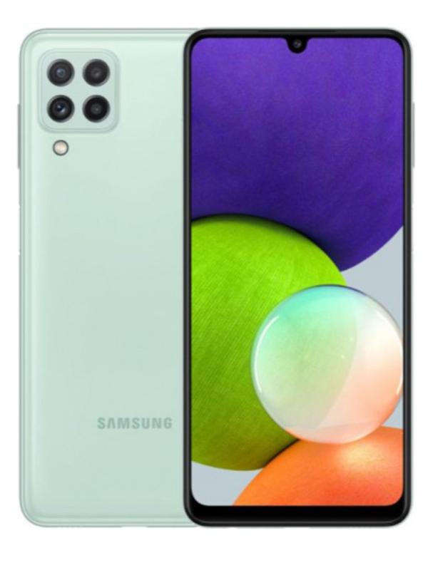 Сотовый телефон Samsung SM-A225F Galaxy A22 4/128Gb Mint & Wireless Headphones Выгодный набор + серт. 200Р!!! телефон samsung galaxy a22 4 128gb white sm a225f