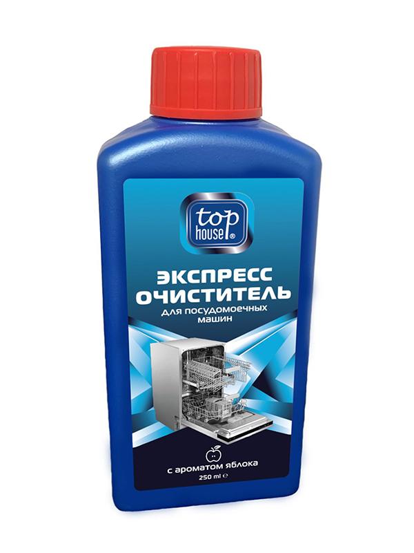 Экспресс-очиститель для посудомоечных машин Top House 250ml Яблоко 393699