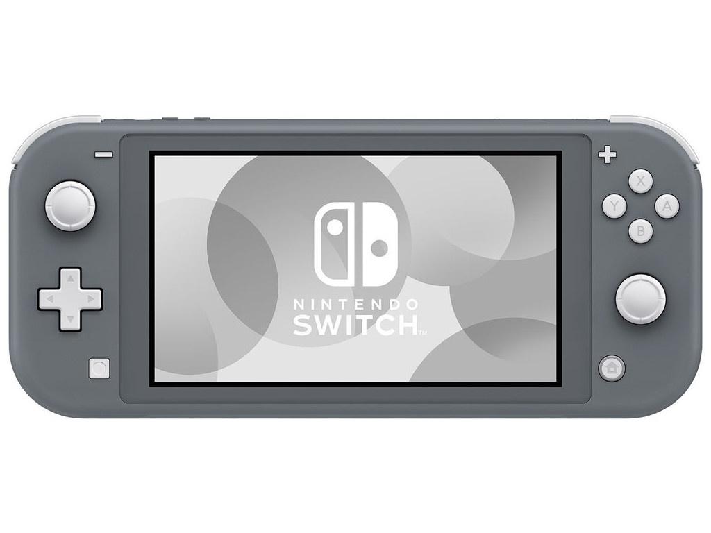 Игровая приставка Nintendo Switch Lite Grey Выгодный набор + серт. 200Р!!!