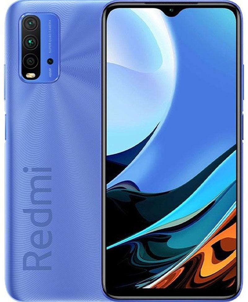 Сотовый телефон Xiaomi Redmi 9T 4/128Gb Blue & Wireless Headphones Выгодный набор + серт. 200Р!!! сотовый телефон vsmart joy 3 4 64gb purple topaz