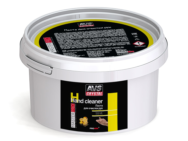 Очищающая паста для рук AVS AVK-358 MasterPro 550ml A40319S