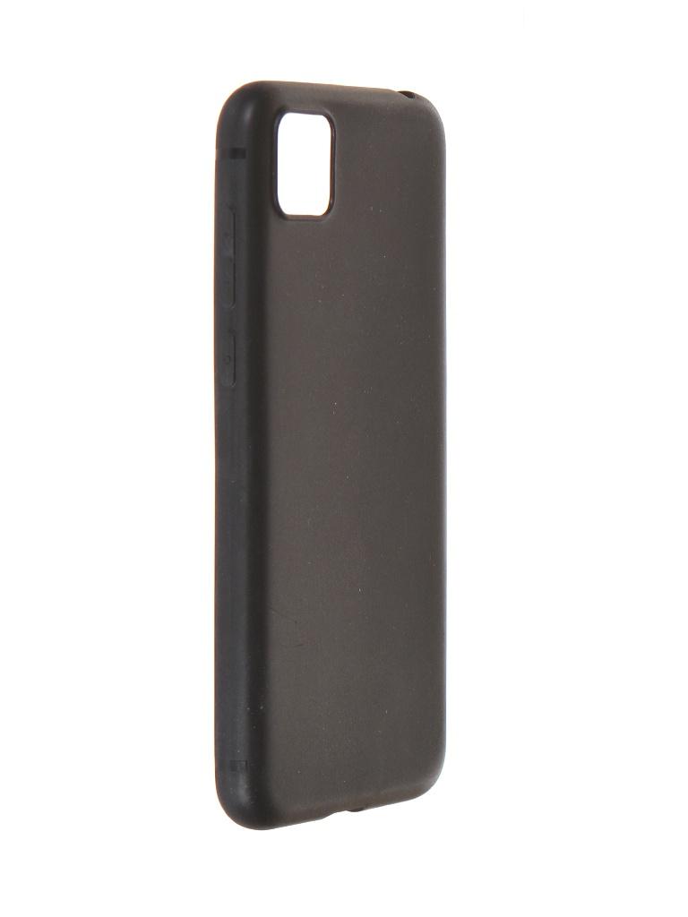Чехол Krutoff для Honor 9S / Huawei Y5p Soft Black 12651