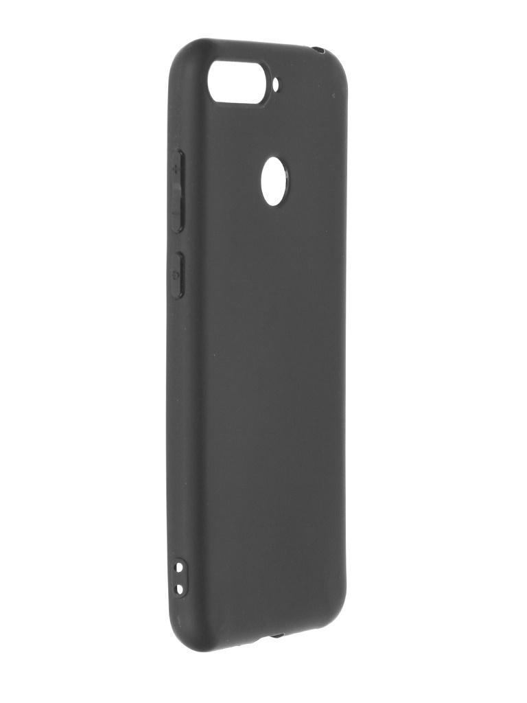 Чехол Krutoff для Huawei Y6 Prime 2018 / Honor 7A Pro 7C Soft Black 12661