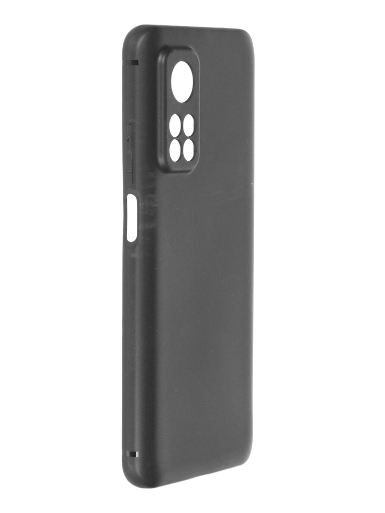 Чехол Krutoff для Xiaomi Mi 10T / Mi 10T Pro Soft Black 12695