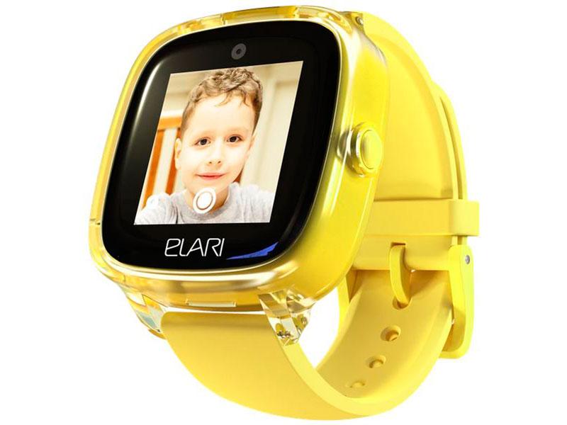 Elari KidPhone 4 Fresh Yellow Выгодный набор + серт. 200Р!!!