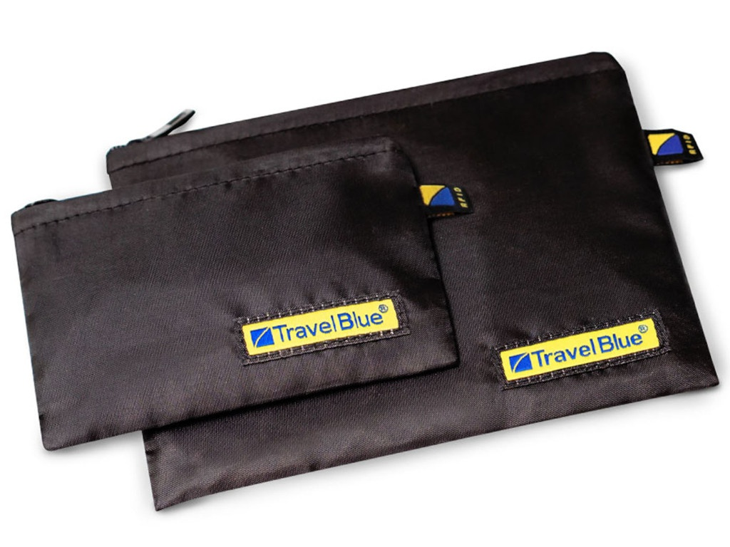 Комплект для кредитных карт Travel Blue RFID Pockets 702_BLK