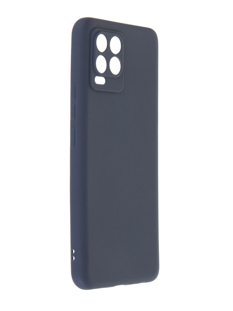 Фото - Чехол Zibelino для Realme 8 / 8 Pro Soft Matte с защитой камеры Blue ZSM-RLM-8-CAM-BLU чехол zibelino для realme c11 soft matte blu zsm rlm c11 blu