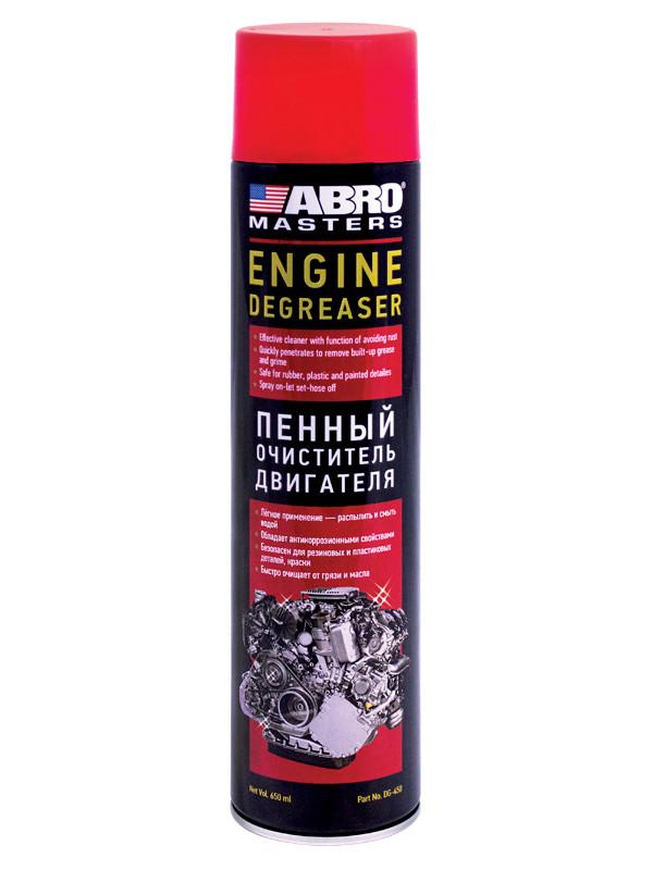 Очиститель двигателя Abro 650ml DG450