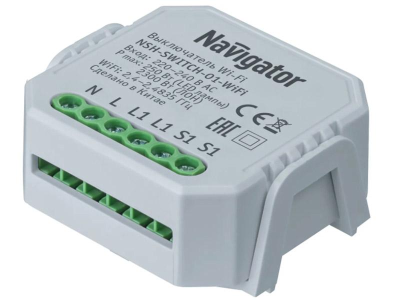 Выключатель Navigator NSH-SWITCH-01-WiFi 82 632