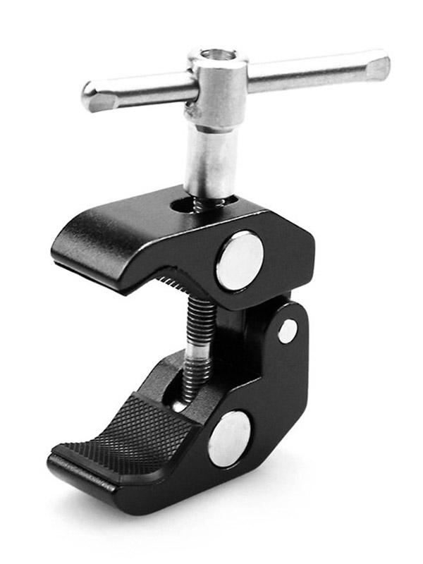 Фото - Универсальное крепление SmallRig Super Clamp 1/4 + 3/8 thread 735 6pcs screw thread metric tap drill bits 1 4 hex shank hss countersink drill cone bit set m3 m10 mayitr