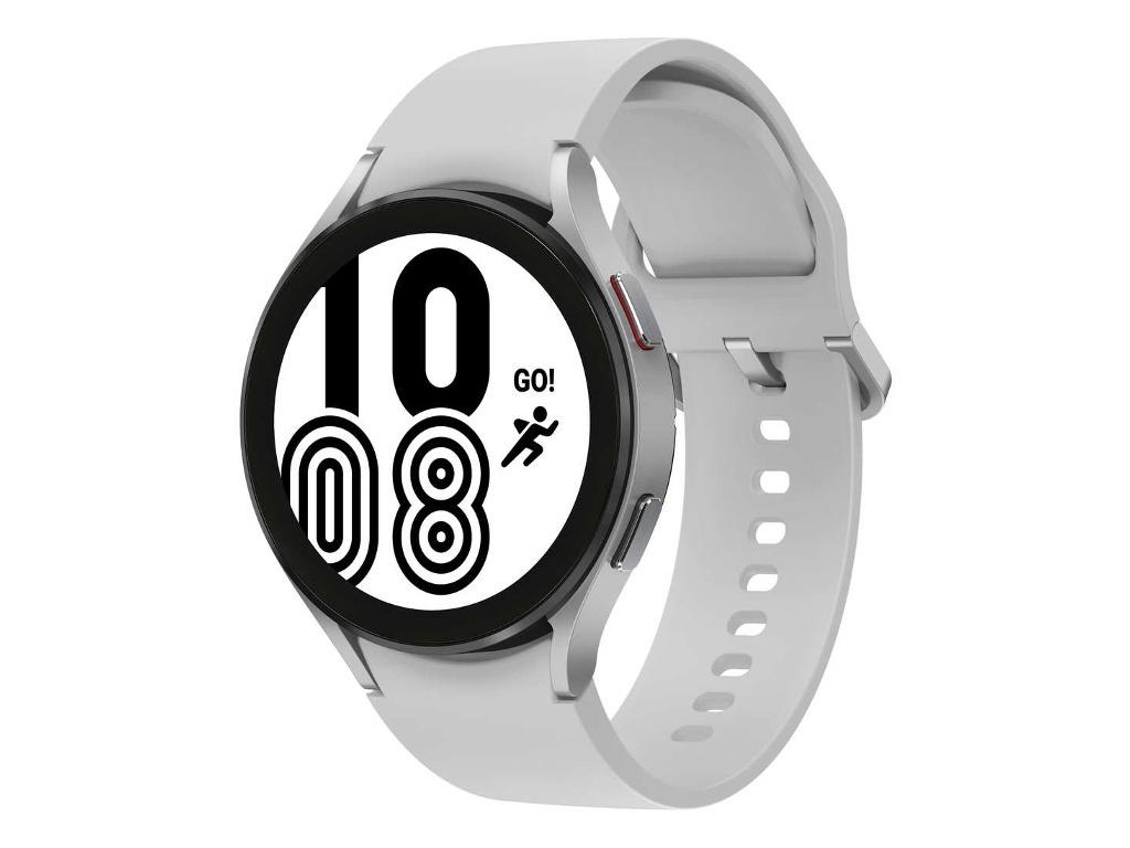 Умные часы Samsung Galaxy Watch 4 44mm Silver SM-R870NZSACIS Выгодный набор + серт. 200Р!!!