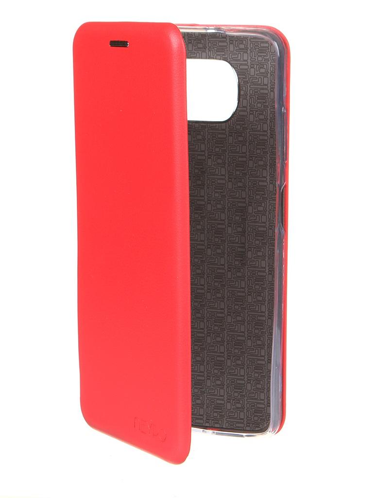 Чехол Neypo для Poco X3 Premium Red NSB19769