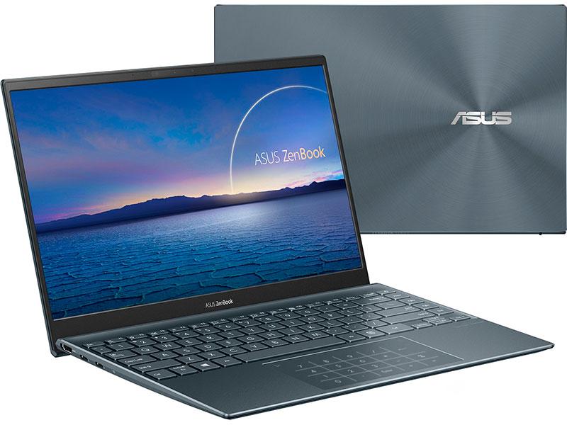Ноутбук Asus ZenBook 14 UX425EA-KI562T 90NB0SM1-M12940 (Intel Core i5 1135G7 2.4GHz/8192Mb/512Gb+32Gb SSD/Intel Iris Xe Graphics/Wi-Fi/Bluetooth/Cam/14/1920x1080/Windows 10)