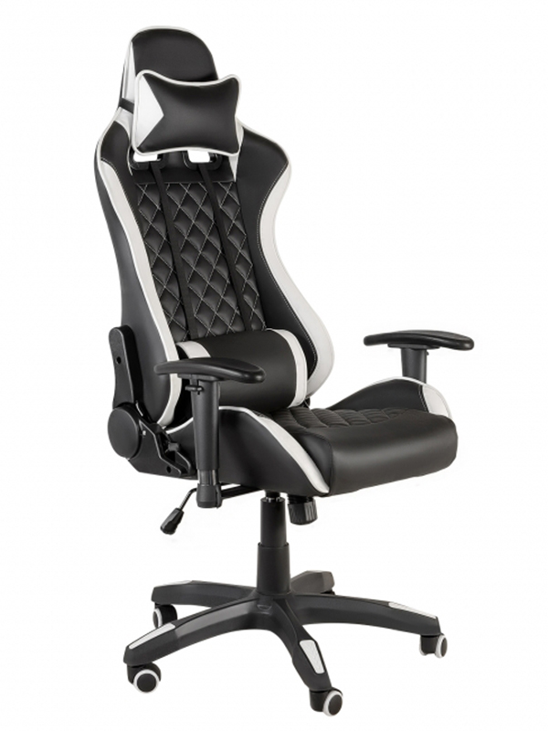 Компьютерное кресло Меб-фф MFG-6023 Black-White