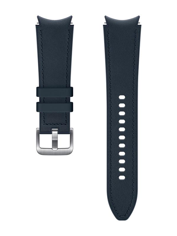 Aксессуар Ремешок для Samsung Galaxy Watch 4 Classic / Hybrid Leather M/L Dark Blue ET-SHR89LNEGRU