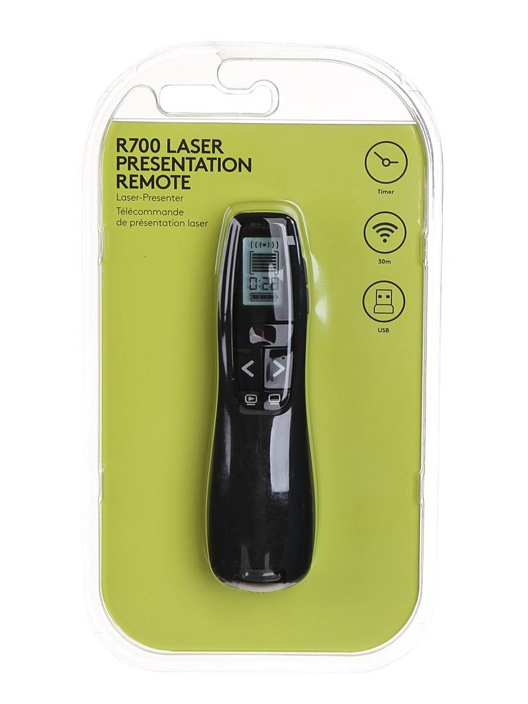 Презентер Logitech Professional Presenter R700 Black USB