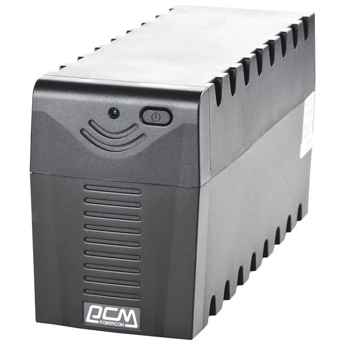 Фото - Источник бесперебойного питания Powercom Raptor RPT-600AP источник бесперебойного питания powercom raptor rpt 1000ap euro