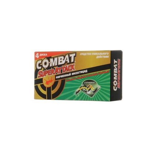 combat super spray plus Средство защиты COMBAT Super Attack Ловушки для муравьёв, 4шт