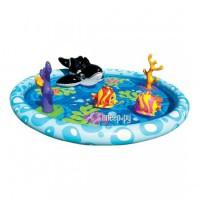 Детский бассейн Intex Seascape 196x13cm 57448