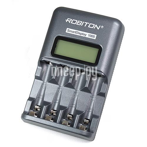 Зарядное устройство Robiton Smart Display 1000 (без аккумуляторов)