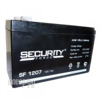 Фото Аккумулятор Security Force / Security Alarm АКБ-7 SF 1207