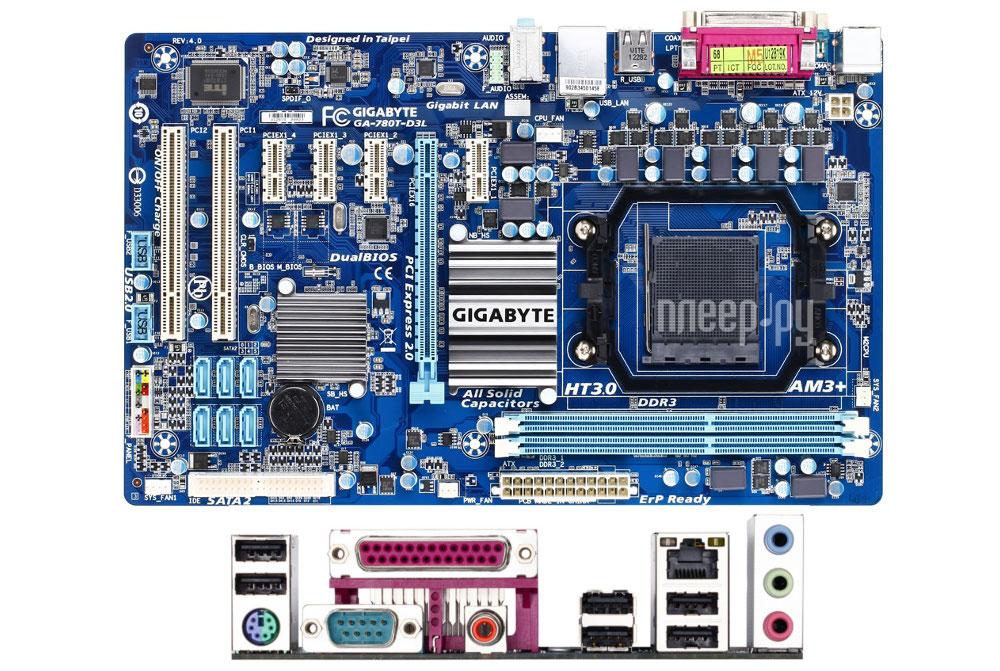 Gigabyte GA-780T-D3L (rev. 4.0) Driver Download