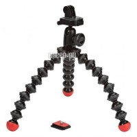 Фото Штатив Joby GorillaPod Action Tripod with Mount для GoPro Black/Red JB01300-BWW