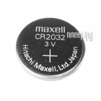 Батарейка CR2032 - Maxell CR2032 3V (1 штука)