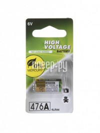 Батарейка 4LR44 - GP High Voltage 4LR44 6V 476A-2C1 (1 штука)