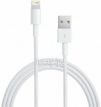 Аксессуар Ginzzu Lightning to USB Cable 1.0m для iPhone 5 / 5S / SE/iPod Touch 5th/iPod Nano 7th/iPad 4/iPad mini GC-501W White