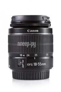 Объектив Canon EF-S 18-55 mm F/3.5-5.6 III DC KIT