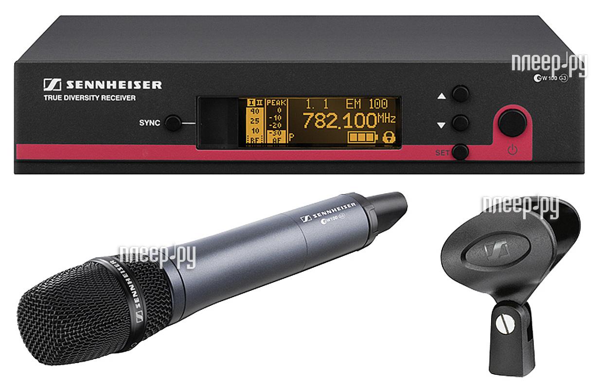 схема радиомикрофона синхайзер ew100