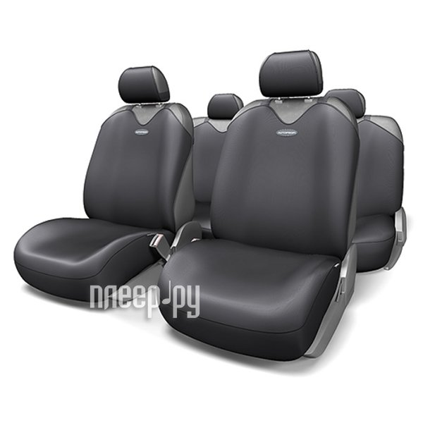 Чехол Autoprofi Comfort Combo Dark/Light Grey CMB-1105 D.GY/L.GY M - фото 4